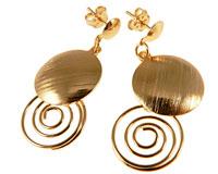 Donna Bella øreringe af guld
