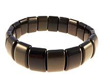 Obsidian armbånd