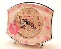 Vækkeur med Hello Kitty