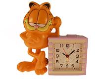 Vækkeur med Garfield