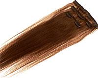 40 cm langt i brun farve 10#, Vægt 45 g