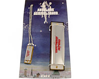 Se mere om Huberts mundharmonika fra julekalenderen Absolons Hemmelighed i web-butikken