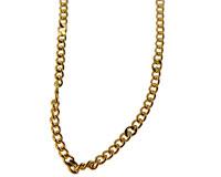 Kæden i guld farve