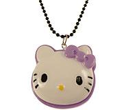 Se mere om Lang halsk�de med Hello Kitty figur i lilla og hvid i web-butikken
