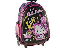 Hello Kitty skoletaske- kuffert