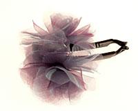 Hårspænde med blomst