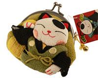 Lille pung med Japansk Lucky Cat
