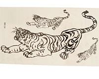 Se mere om Tatoveringer med tigere i sorte farver til b�rn i web-butikken
