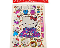 Stickers med Hello Kitty