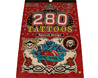 Se mere om Tatoveringer bog med seks forskellige tatoveringer til piger og drenge, b�rn eller voksne. i web-butikken