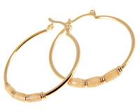Donna Bella øreringe med 18 karat guld (ØR440)