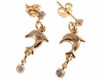 Donna Bella øreringe af guld (ØR451)