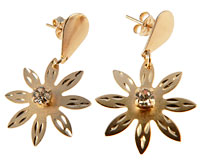 Donna Bella øreringe af guld (ØR475)