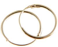 Se mere om Store creol øreringe  i sterling sølv 925 i web-butikken