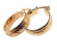 Se mere om Populære Donna Bella øreringe belagt med 18 karat guld i web-butikken
