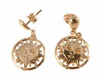 Se mere om Donna Bella øreringe i 18 karat belagt af guld i web-butikken