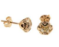 Se mere om Donna Bella ørestikker belagt af 18 karat guld i web-butikken