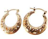 Se mere om Stilfulde Donna Bella øreringe belagt med 18 karat guld i web-butikken