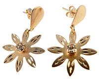 Se mere om Donna Bella øreringe belagt af 18 karat guld i web-butikken