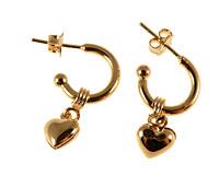 Se mere om Hjerteøreringe med Donna Bella øreringe i web-butikken