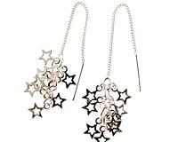 Se mere om Klassiske øreringe af sølv med stjerner i web-butikken