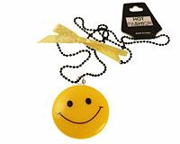 Se mere om Stor halskæde med gul smilie i web-butikken