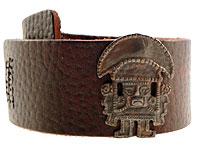 Se mere om Kraftigt armbånd af ægte læder fra Tumi House i web-butikken