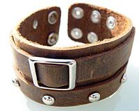 Læderarmbånd (AB510)