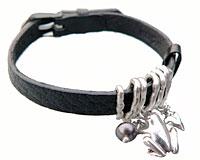 Se mere om Armbånd med Frog i sølv i web-butikken