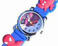 Spiderman ur med sort rem (BU111)
