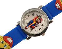 Se mere om Børneur med Super Mario med blå rem i web-butikken