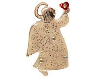 Se mere om Broche af juleengel i web-butikken