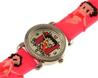 Se mere om Betty Boop ur i lyserød farve i web-butikken