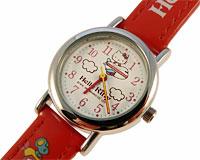 Se mere om Hello Kitty ur med rød rem med Hello Kitty skrift i web-butikken