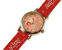 Se mere om Hello Kitty ur med rød rem og lyserød urskive i web-butikken