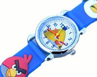 Se mere om Angry Birds 3D børneur i blå i web-butikken