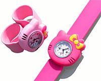 Se mere om Hello Kitty ur med lyserød til børneure  i web-butikken
