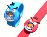 Se mere om Angry Birds silikone børneur  i web-butikken