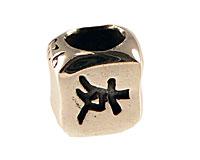 Se mere om Charms med kinesisk skriftegn for venner i sterlingsølv i web-butikken