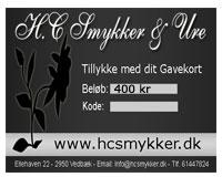 Gavekort 400 kr (GK003)
