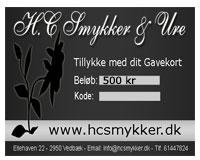 Gavekort 500 kr (GK004)
