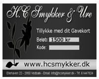 Gavekort 1500 kr (GK007)