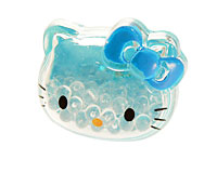 Se mere om Hello Kitty hårelastik i lyseblå farve i web-butikken