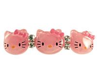 Se mere om Lille hårspænde med Hello Kitty i lyserød farve i web-butikken
