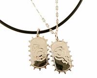 Se mere om Halskæde af ægte sølv med mand og kvinde symboler i web-butikken