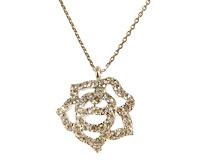 Se mere om Halskæde med blomst i sølvfarve i web-butikken