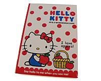 Se mere om Hello Kitty blok med papirer i web-butikken