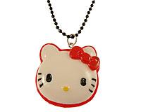 Se mere om Lang halskæde med Hello Kitty figur i rød og hvid i web-butikken