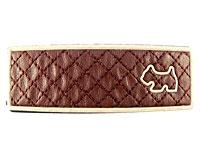 Se mere om Brunt hårspænde med en hund i web-butikken