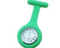 Se mere om Sygeplejeur i silikone i grøn farve i web-butikken